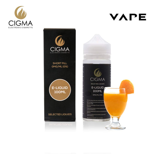 CIGMA Zitronenlimonade 100ml E Liquid 0mg | Cigee