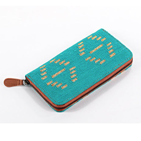 Afreen Wallet Turquoise