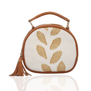 Vata Round Bag Off-White