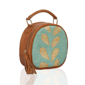 Vata Round Bag Green