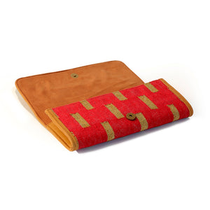 Shahi Clutch Bag Red