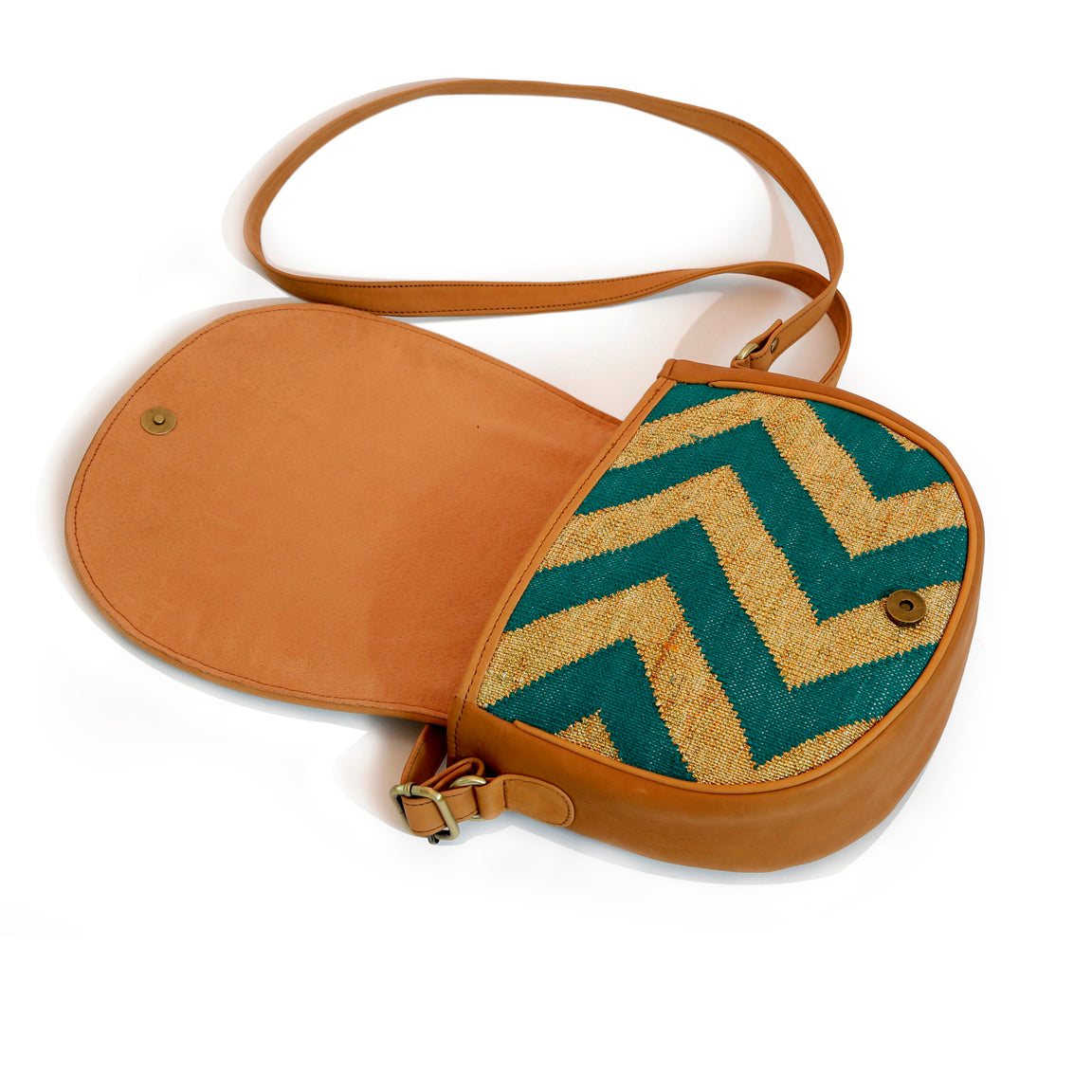 Shahi Saddle Bag Green
