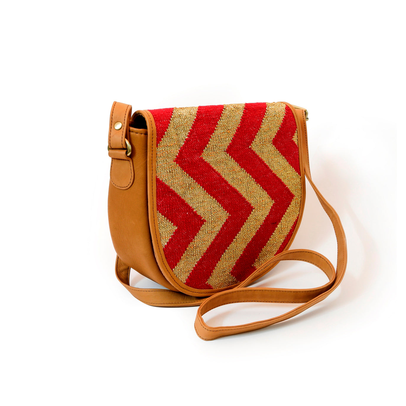 Shahi Saddle Bag Red