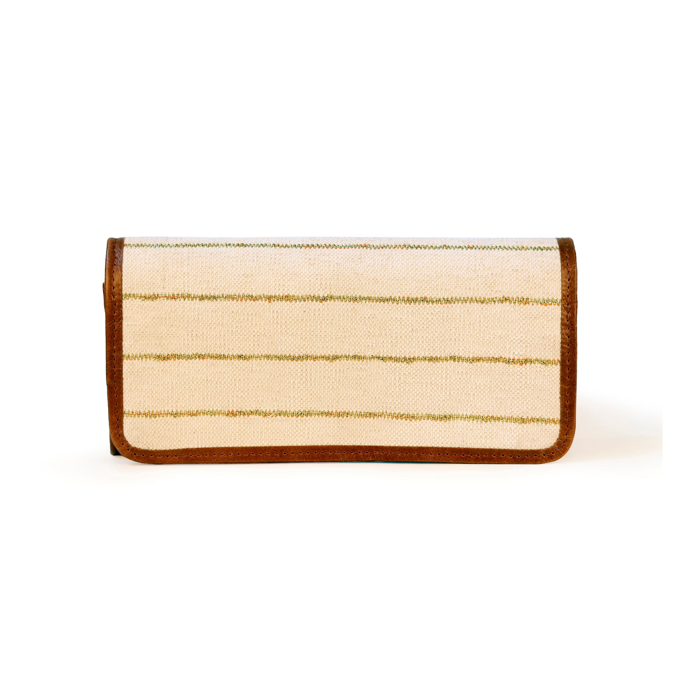 Esha Clutch Off-white