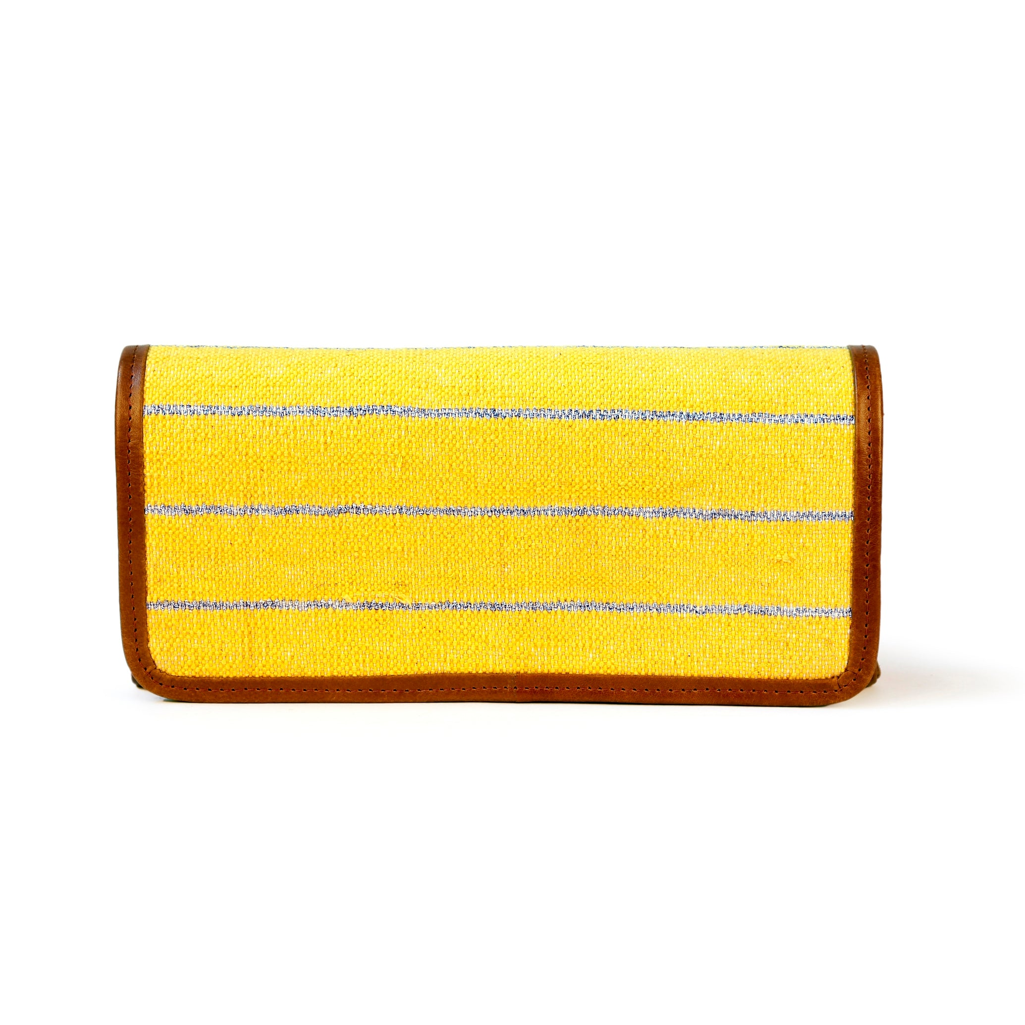 Esha Clutch Yellow
