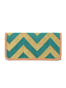 Shahi Clutch Bag Green
