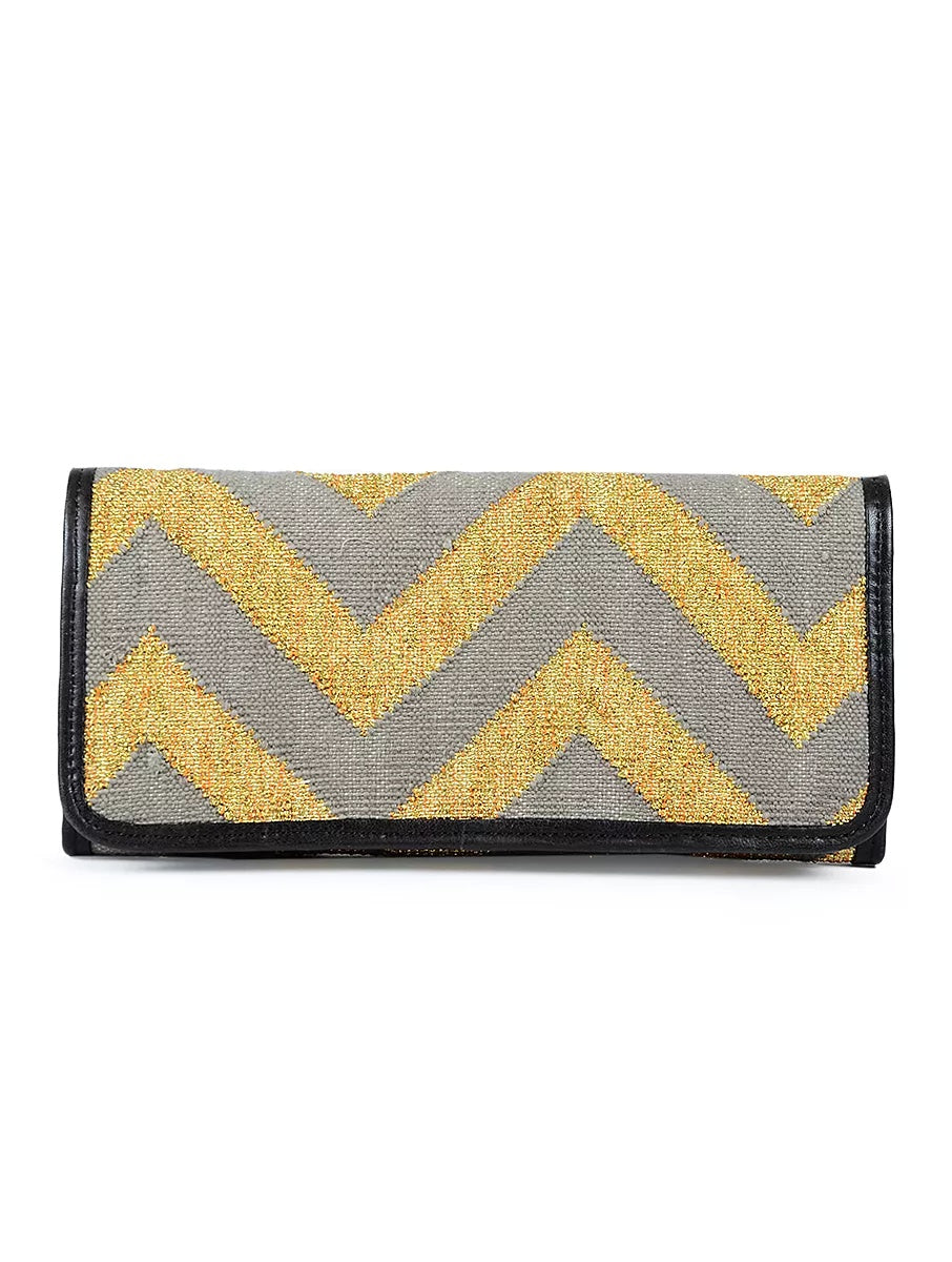 Shahi Clutch Bag Grey
