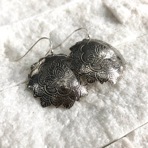LOTUS MANDALA EARRINGS