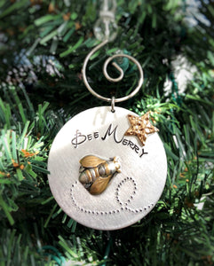 BEE MERRY ORNAMENT