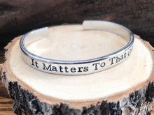 SPECIAL WHOLESALE ORDER FOR LUCKY K9- IT MATTERS TO THAT ONE