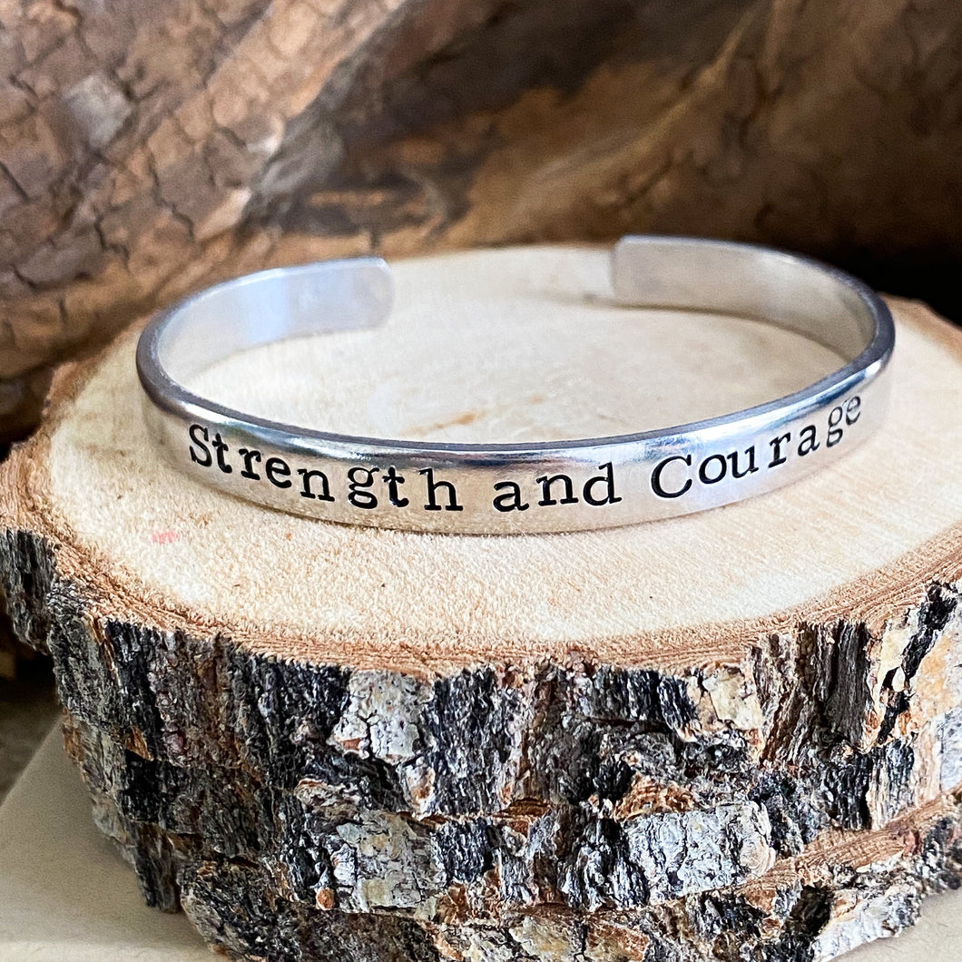 STRENGTH & COURAGE FUNDRAISING BRACELET