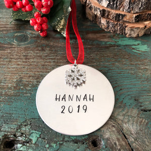 2019 CURE JM PERSONALIZED HOLIDAY ORNAMENT