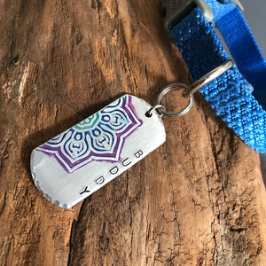CUSTOM DOG TAG PET NAME TAG