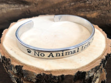 TAIL TO PAW ANIMAL SUPPORT- NO ANIMAL LEFT BEHIND FUNDRAISING BRACELET