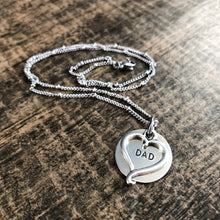 SILVER INITIAL CHARM
