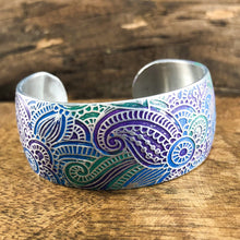 Colorful Paisley Cuff
