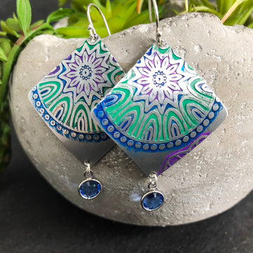 COLORFUL MANDALA DANGLES