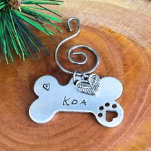 PET MEMORIAL BIG FLUFFY DOG RESCUE FUNDRAISING ORNAMENT
