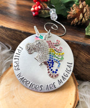 EPILEPSY WARRIOR HOLIDAY ORNAMENT