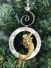PERSONALIZED MERMAID CHRISTMAS ORNAMENT