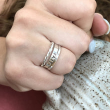 PERSONALIZED STACKING RING