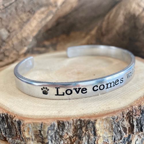 LOVE COMES WITH PAWS GRAND STRAND FUNDRAISING BRACELET