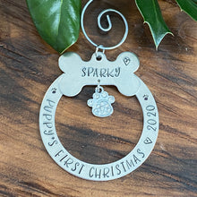 PERSONALIZED PUPPY'S FIRST ORNAMENT