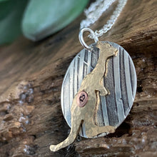 KANGAROO FOR AUSTRALIA IN STERLING SILVER AND BRASS