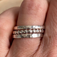 SHINY RING STACK - SET OF 3