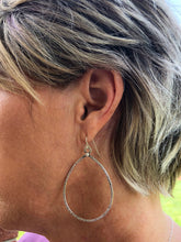 Minimal Rustic Sterling Earrings