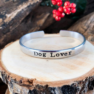 LITTLE PINK SHELTER 'DOG LOVER' FUNDRAISING BRACELET