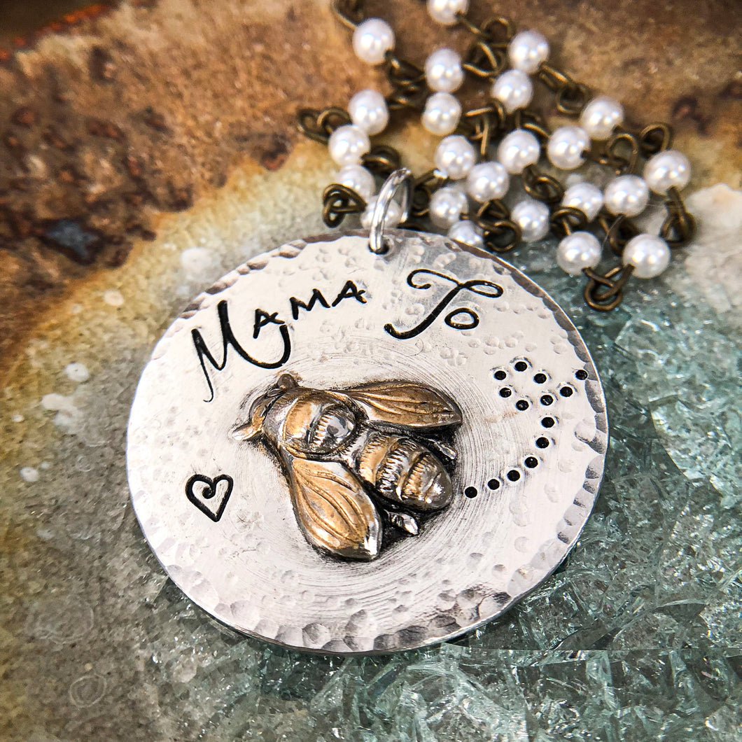 MAMA TO BEE PENDANT
