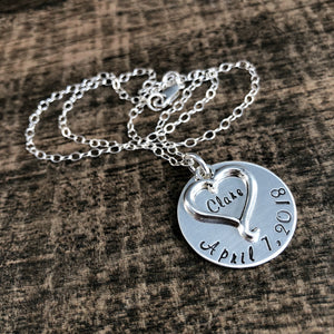 STERLING SILVER MEMORY PENDANT