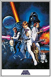 Star Wars One Sheet Movie Poster