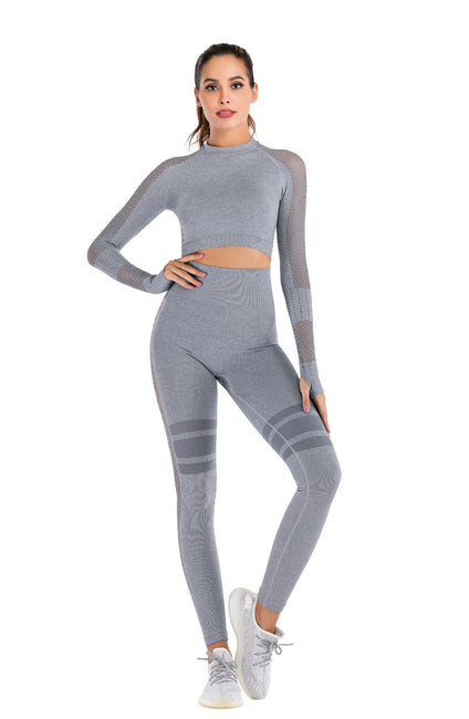 Grey Seamless Legging