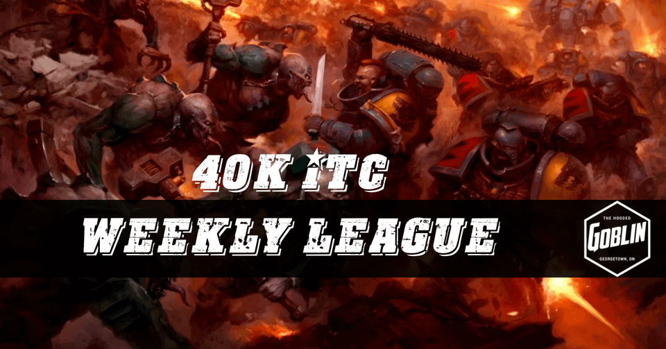 40K ITC League for September