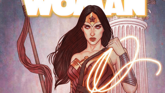 Wonder Woman comic Trader
