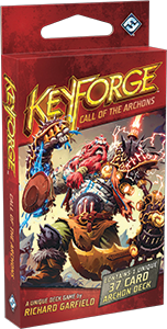 KEYFORGE: CALL OF THE ARCHONS - ARCHON DECK - Keyforge - The Hooded Goblin