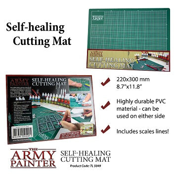 The Army Painter: Tool Self-Healing Cutting Mat - Hobby Supplies - The Hooded Goblin