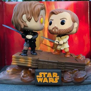 Duel on Mustafar  Pop Vinyl Pop Star Wars