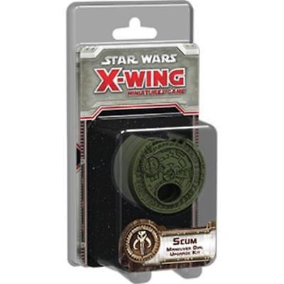 Star Wars X-Wing: Scum Maneuver Dial Upgrade Kit - X-Wing - The Hooded Goblin