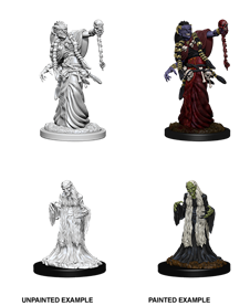 Dungeons & Dragons Nolzur'S Marvelous Miniatures: Green Hag & Night Hag - Roleplaying Games - The Hooded Goblin