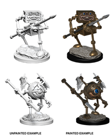 Dungeons & Dragons Nolzur's Marvelous Miniatures: Monodrone & Duodrone - Roleplaying Games - The Hooded Goblin