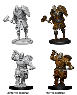 Dungeons & Dragons Nolzur's Marvelous Miniatures: Goliath Fighter (Male)