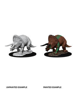 Dungeons & Dragons Nolzur'S Marvelous Miniatures: Triceratops - Dungeons and Dragons - The Hooded Goblin