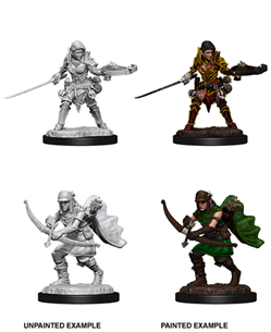 Nolzur's Pathfinder Deep Cuts: Half-Elf Ranger (Female) - Dungeons and Dragons - The Hooded Goblin