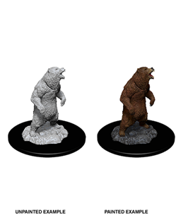 Dungeons & Dragons Nolzur's Marvelous Miniatures: Grizzly - Dungeons and Dragons - The Hooded Goblin