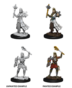 Dungeons & Dragons Nolzur's Marvelous Miniatures: Human Cleric (Female)