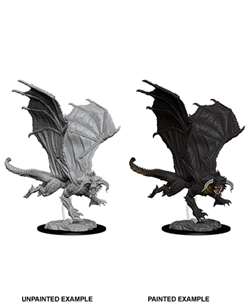 Dungeons & Dragons Nolzur's Marvelous Miniatures: Young Black Dragon
