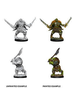 Pathfinder Deep Cuts Unpainted Miniatures: Wave 8: Orcs - Roleplaying Games - The Hooded Goblin